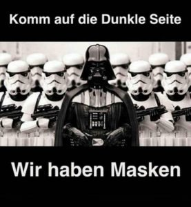 Wir Haben Masken - Darth Vader Meme