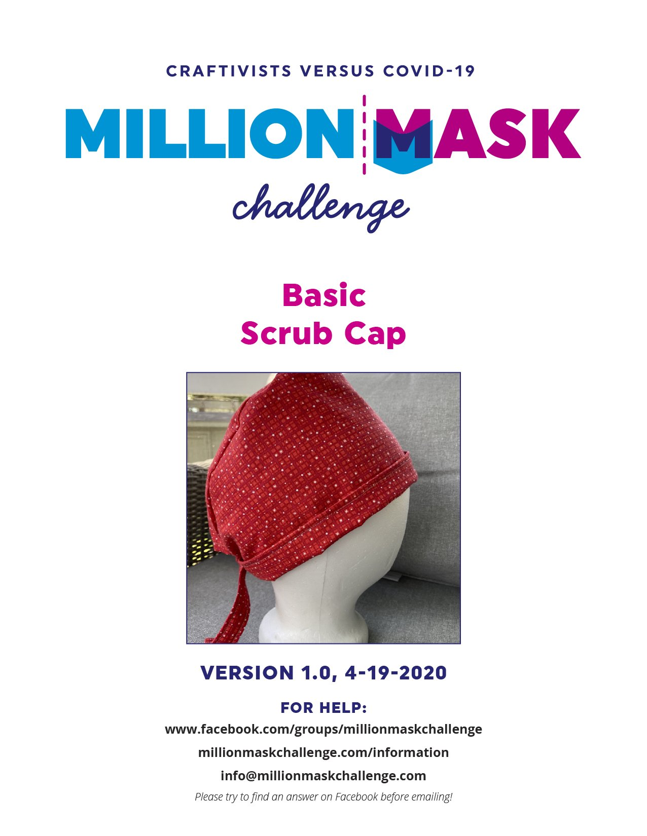 Basic Mask Instructions Version 2.0